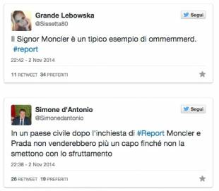 Remo E Ruffini Bufera Che Dopo Social L Sui Moncler Piumini wqHwY1xn