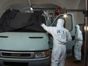 il furgone di bossetti analizzato dai ris