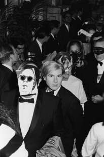 andy warhol black & white ball
