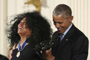 barack obama diana ross