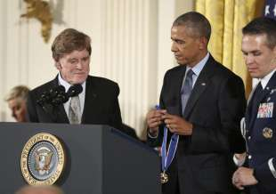 barack obama robert redford