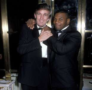 donald trump mike tyson