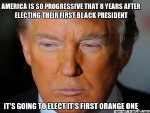 dopo il presidente nero ecco quello arancione