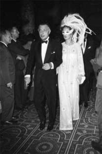 gianni e marella agnelli black & white ball