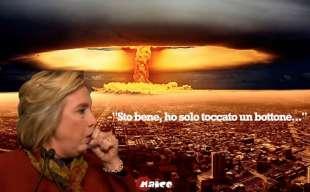 hillary clinton atomica