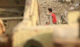 il califfato con artiglieria pesante