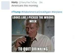 il giorno sbagliato per smettere di bere
