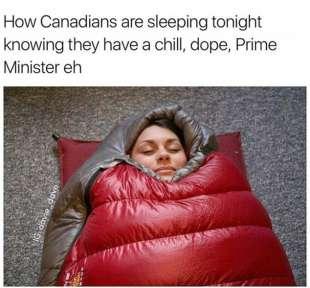 intanto i canadesi se la godono