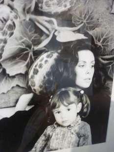 Marina Ripa con la figlia Lucrezia