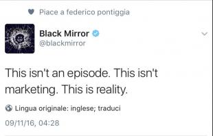niente black mirror questa si chiama realta
