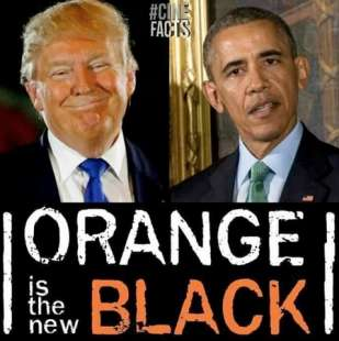 orange is the new black obama trump