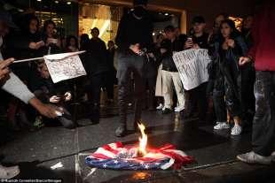 proteste per l elezione di donald trump 10