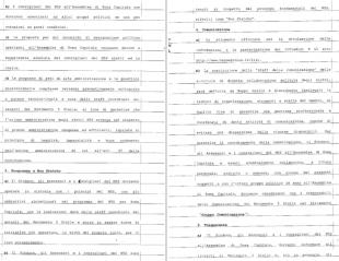 il contratto firmato dai candidati grillini m5s 5 stelle 5