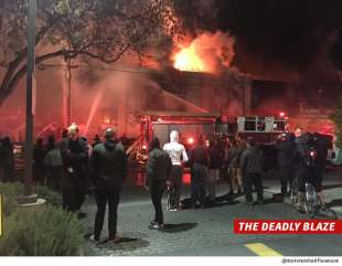 INCENDO A UN RAVE PARTY A OAKLAND