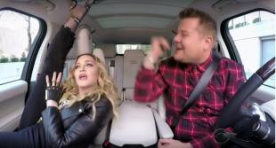 madonna show al carpool