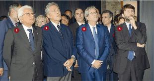 RUTELLI FRANCESCHINI MATTARELLA GENTILONI