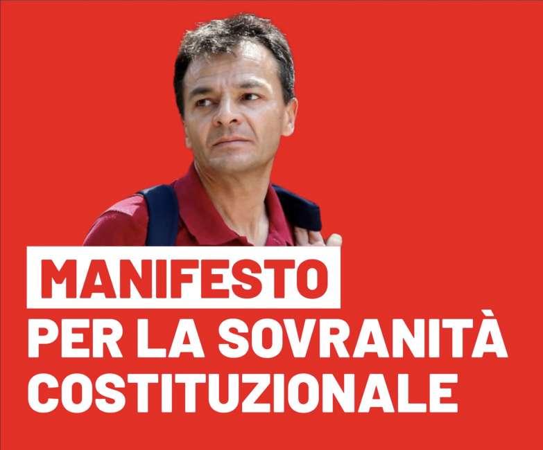 Risultati immagini per Manifesto per la Sovranità Costituzionale  immagini