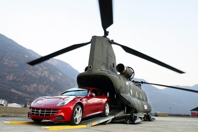 Elicottero Trasporto : è possibile che il ministro della difesa per mancanza