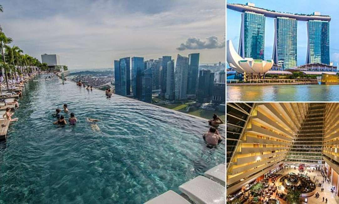 Hotel Singapore Piscina Tetto
