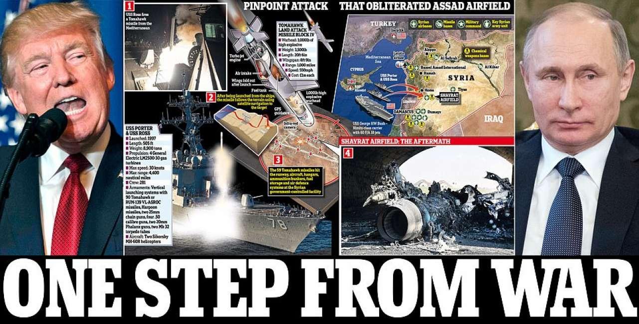 Risultati immagini per 3 guerra mondiale trump putin