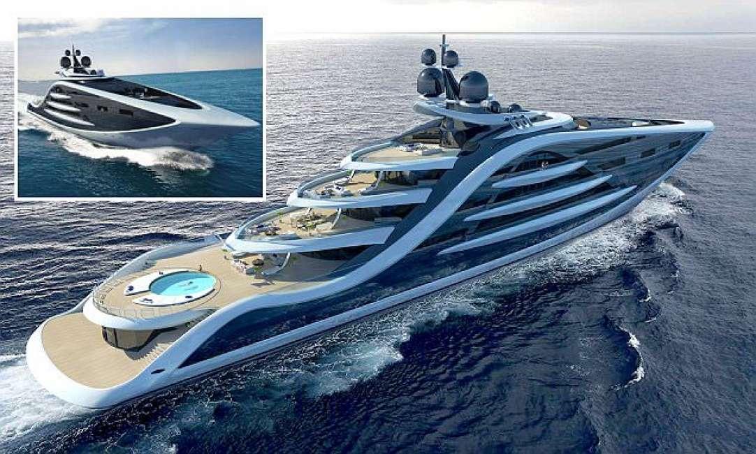 Epifania sar il megayacht pi grande al mondo lunga for Classifica yacht piu grandi del mondo