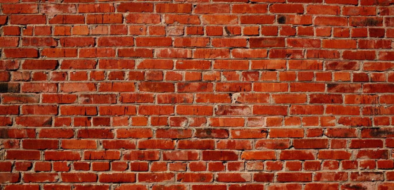 L illusione del muro di mattoni che sta facendo impazzire - Parete a mattoncini ...