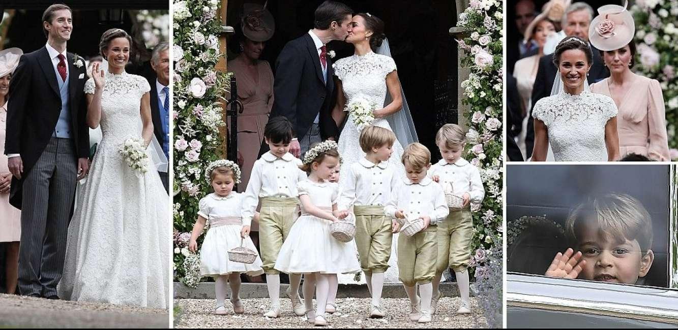 Matrimonio Harry In Chiesa : Cafonal pippa le foto del matrimonio lesclusione della fidanzata