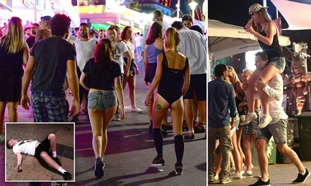 magaluf video ragazza sesso per cocktail
