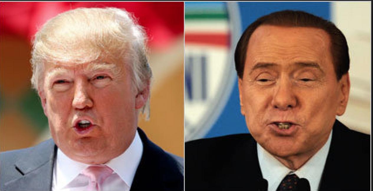 Berlusconi e Trump