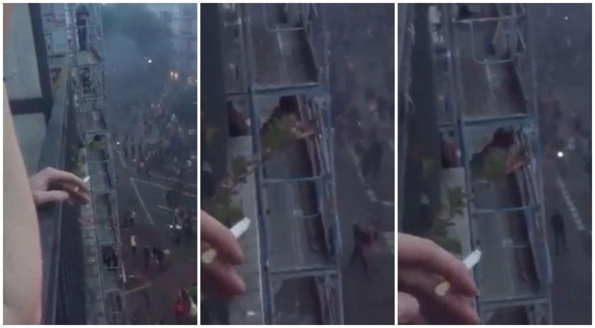 fate l\'amore, non fate la guerriglia - sesso sul balcone durante gli ...
