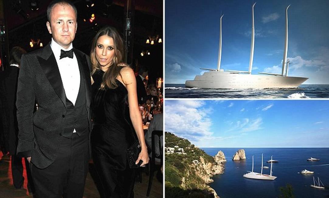 Il miliardario russo che ha speso 450 milioni per for Classifica yacht piu grandi del mondo