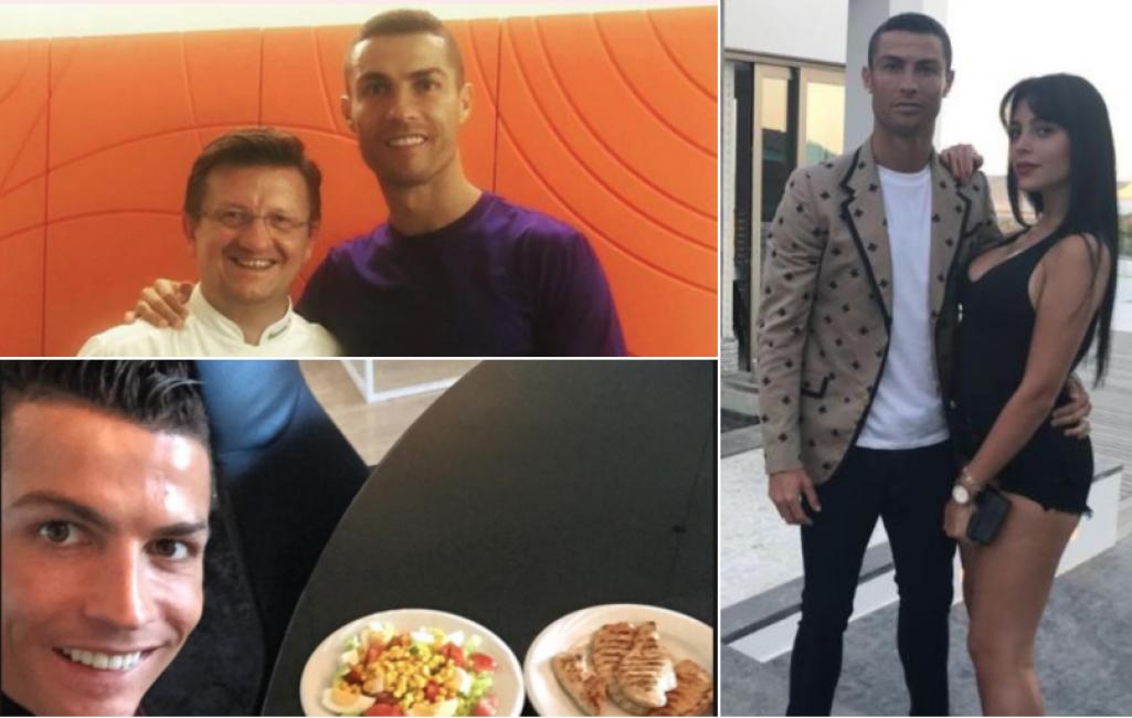 Credenza Per Ristorante : Juventus per cristiano ronaldo prima cena fuori