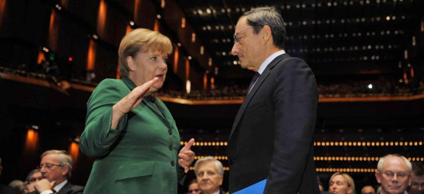 Incontro A Napoli Draghi