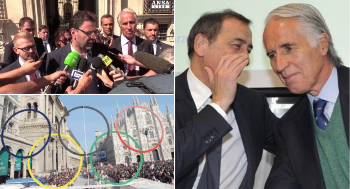 Sala Giochi Torino : Milano decisa a sfilarsi dal tridente olimpico con cortina e torino