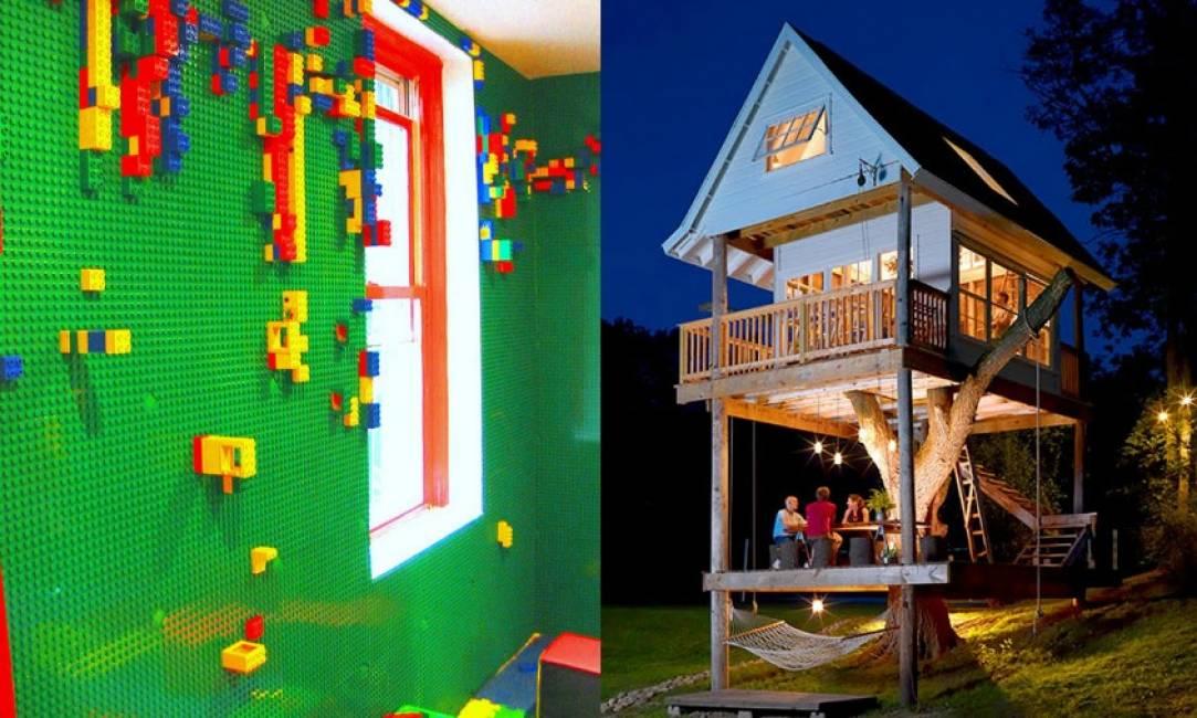 Letti Di Lusso Per Bambini : Dallo scivolo in camera da letto alle pareti di lego arredi di