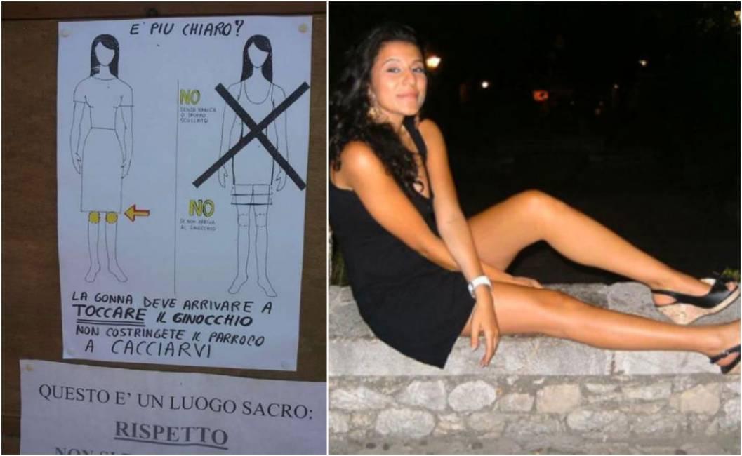 newest collection 02933 26b91 questione di centimetri - un parroco proibisce le minigonne ...