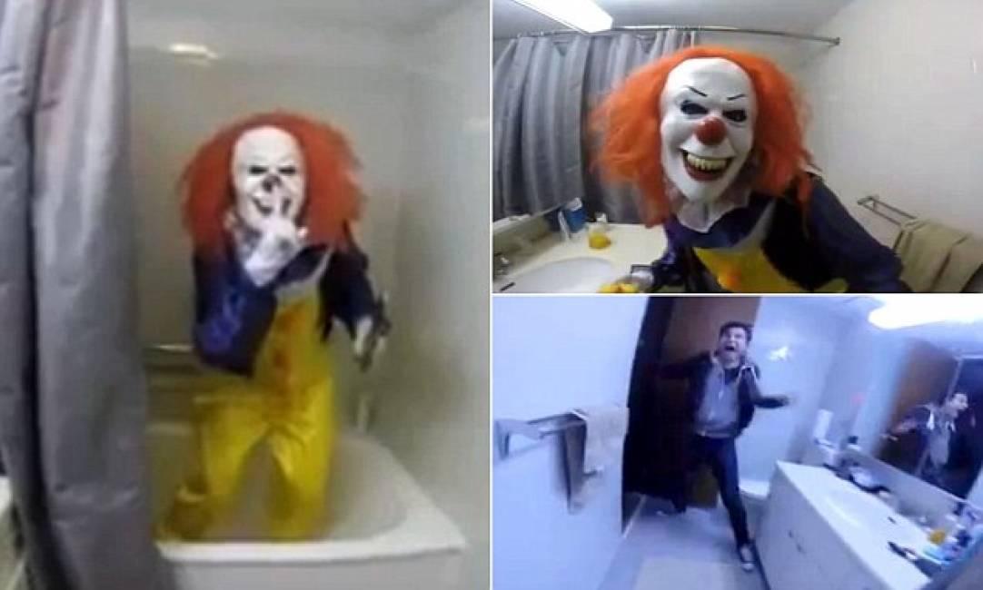 """lo vuoi un palloncino? – la sorella si traveste da clown """"it"""" per ..."""