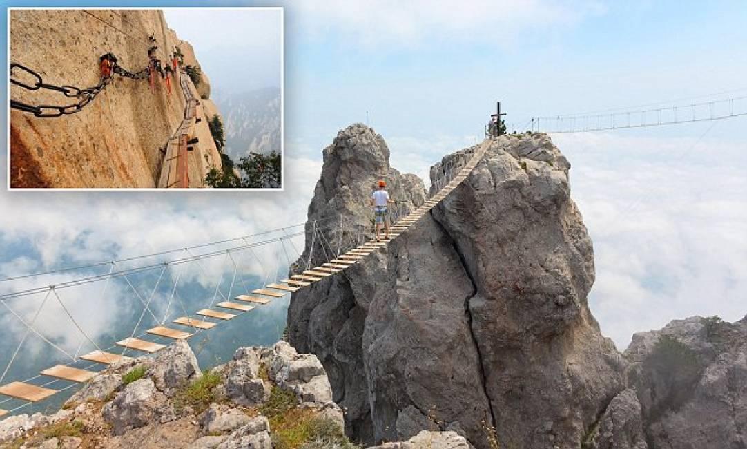I ponti pi belli e pericolosi del mondo non adatti ai for I piu fighi del mondo