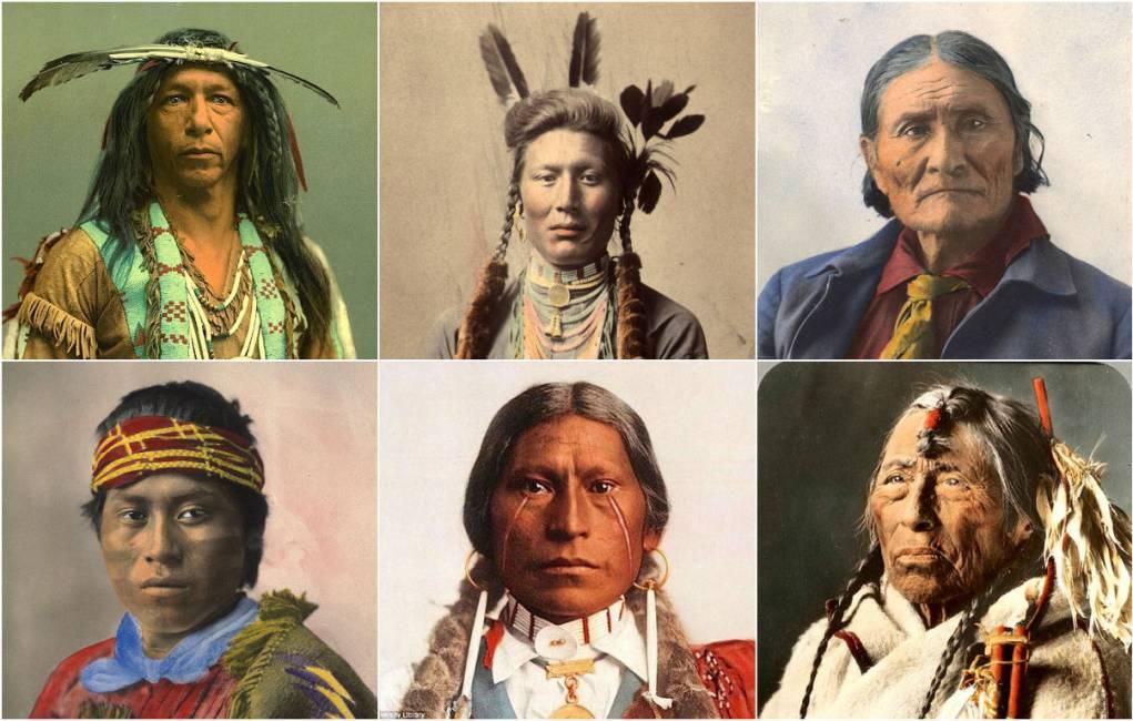 Il Gufo Su Indiani D America: Le Rarissime Immagini Degli Indiani D'america In Posa