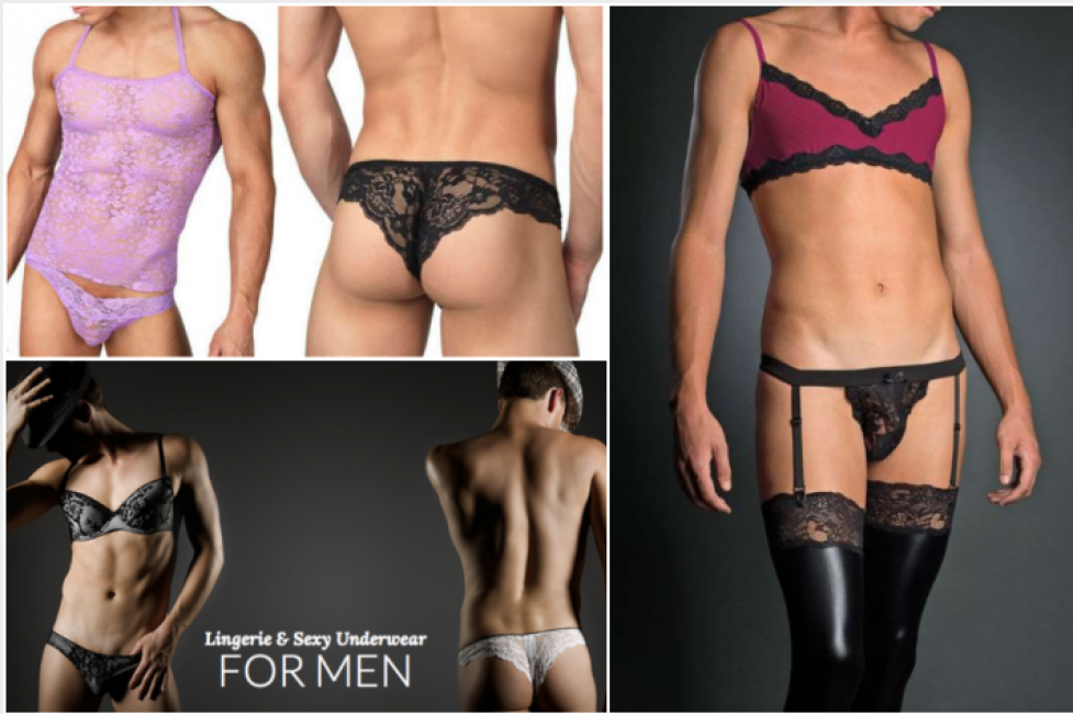 8807a17a0145 uomini diteaddio alle mutande, arriva la lingerie maschile:perizomi di  pizzo, slip fiorati e culotte - Dagospia