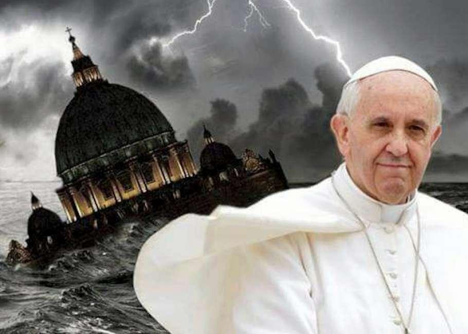 Risultati immagini per Bergoglio eretico